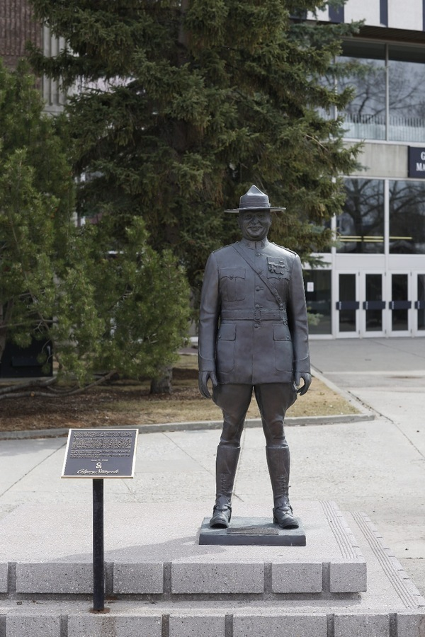 A Salute To Dennis E Massey Stampede Public Art Committee