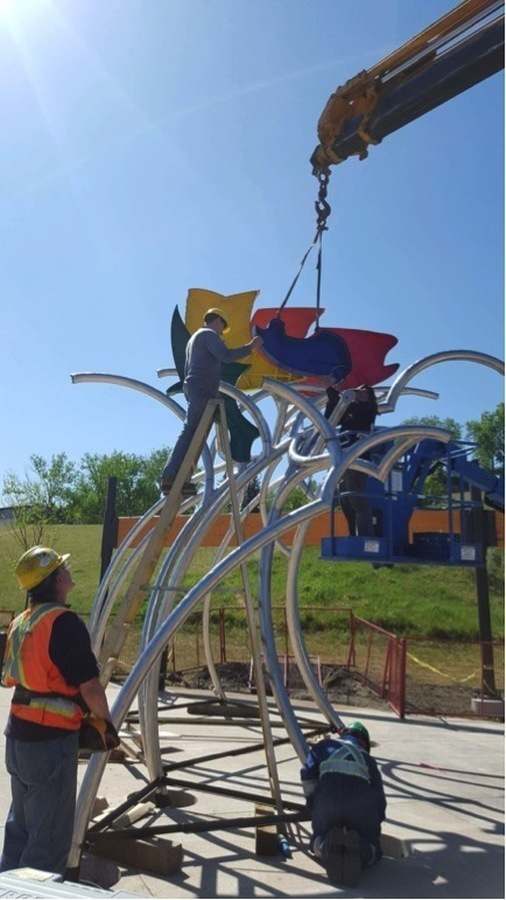 Rainbow Trout Stampede Public Art Committee